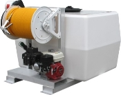 200 Or 300 Gallon Fiberglass Skid Sprayers