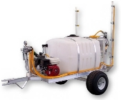 50 Or 100 Gallon 2 Wheel Trailer Sprayer