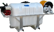 150 Or 200 Gallon Conventional Poly Skid Sprayer