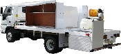 Pro-Series Fiberglass Lawn Truck w/Deck Mounted Carrier