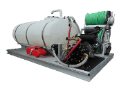 300 Or 500 Gallon Low Profile Poly Skid Sprayer