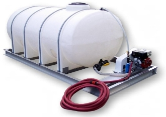 50 Or 100 Gallon Long Pattern Poly Skid Sprayer