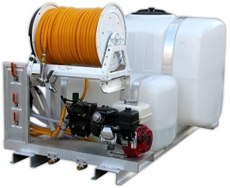 (22) Dual Tank Conventional Poly Skid Sprayer